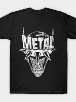 Heavy Metal Laughing-Bat T-Shirt