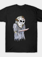Jason Voorhees, Friday the 13th - Horror Hand Puppet T-Shirt