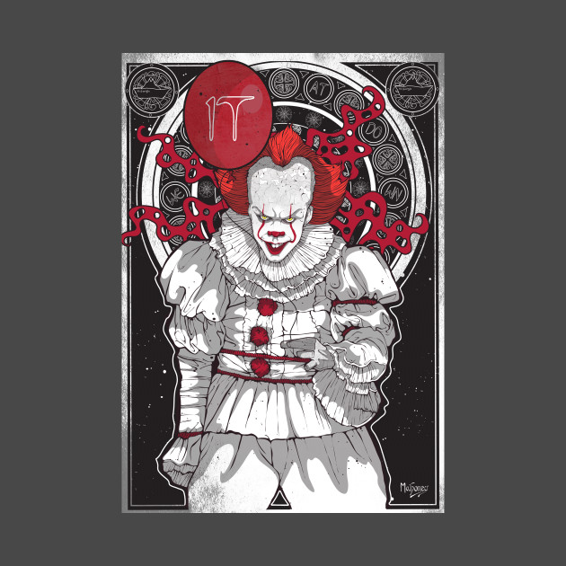 Mucha Style Pennywise