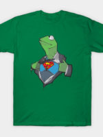 SuperKermit - Kermit Is The Frog Of Steel T-Shirt