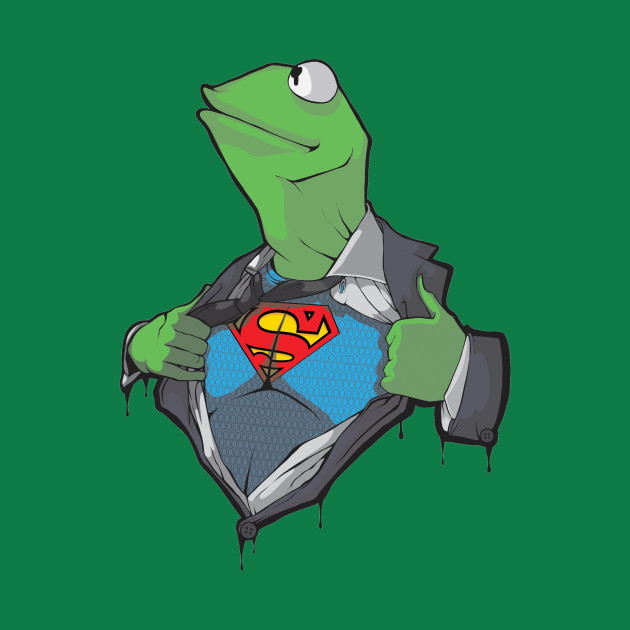 SuperKermit - Kermit Is The Frog Of Steel