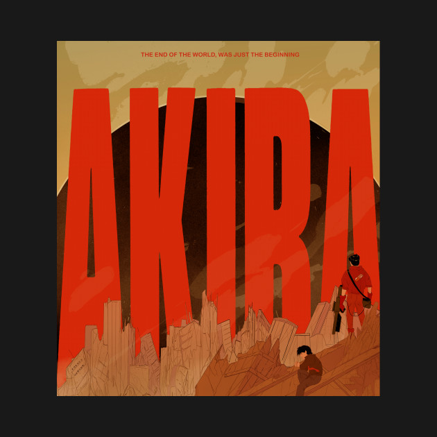 Akira Anime T Shirt By Conor Fenner Toora The Shirt List