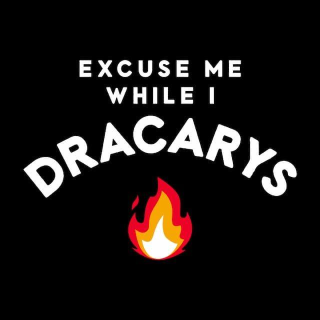 EXCUSE ME WHILE I DRACARYS