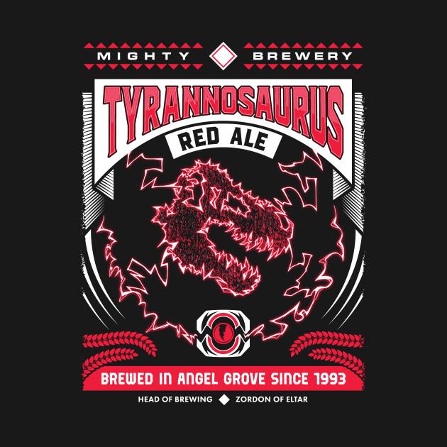 Mighty Brews - Red Tyrannosaurus