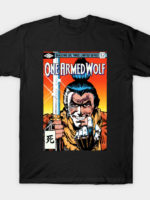 One Armed Wolf T-Shirt