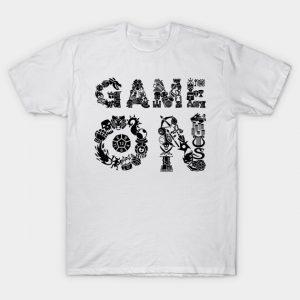 game on black T-Shirt