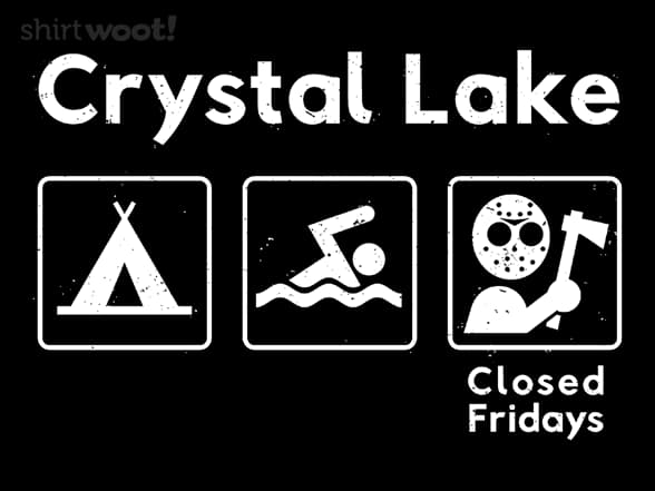 Crystal Lake Closed Fridays