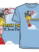 Drunk Dwarf and the Iron Throne T-Shirt
