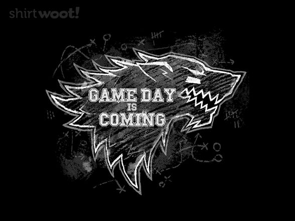 Game Day is Coming