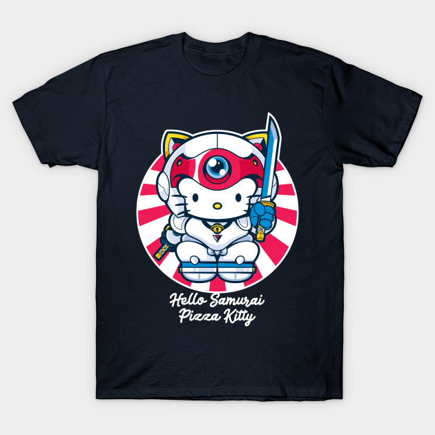 Hello Samurai Pizza Kitty T-Shirt