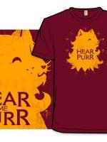 House Lannispurrr T-Shirt