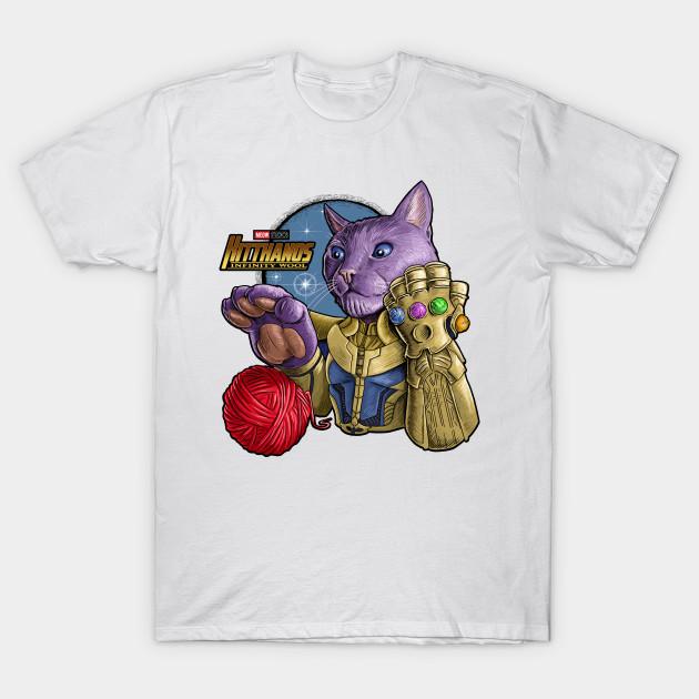 Thanos Cat T-Shirt