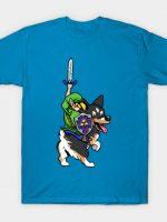 Link Riding a Corgi T-Shirt