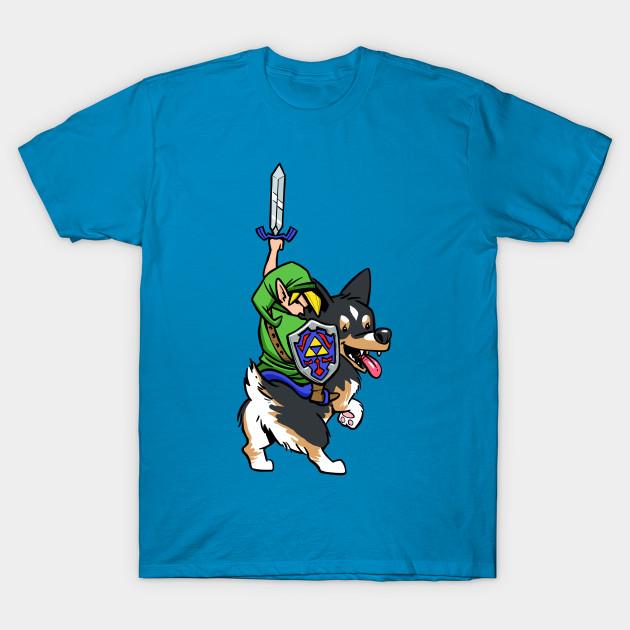 Link Riding a Corgi