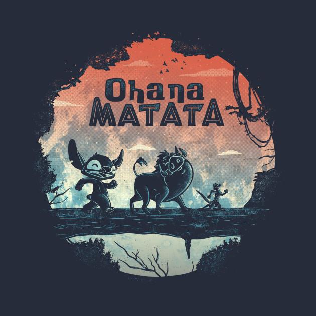 Ohana Matata Stitch T-Shirt