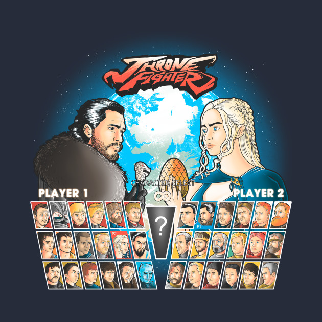 Game of Thrones/Street Fighter Mashup