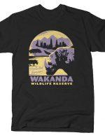WAKANDA WILDLIFE RESERVE T-Shirt