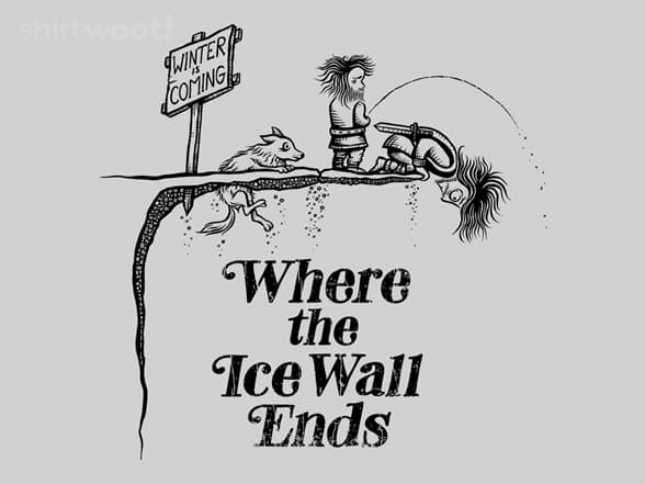 Where the Ice Wall Ends