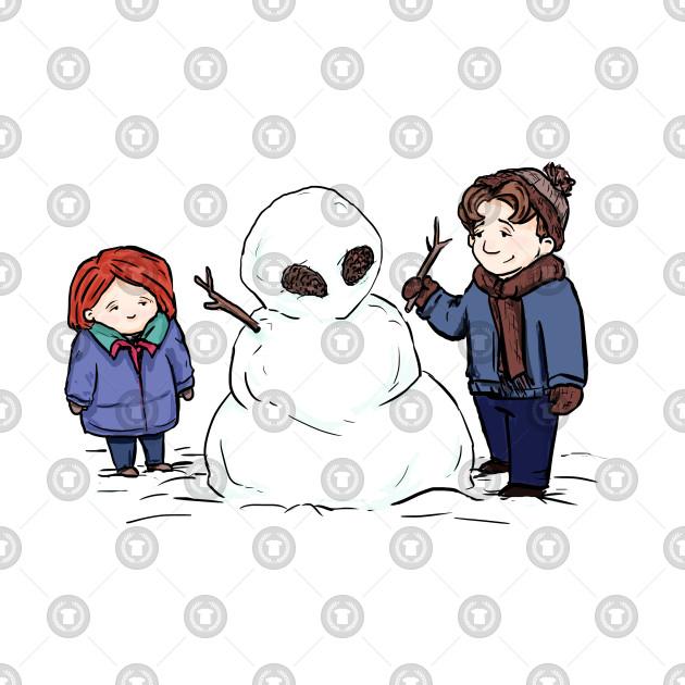 snow alien