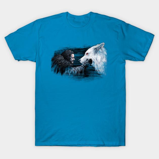 Jon Snow and Ghost T-Shirt