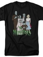 Animated Munsters T-Shirt