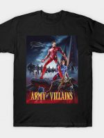 Army of Villains T-Shirt