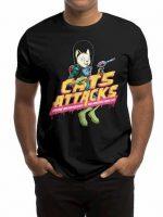CATS ATTACKS T-Shirt