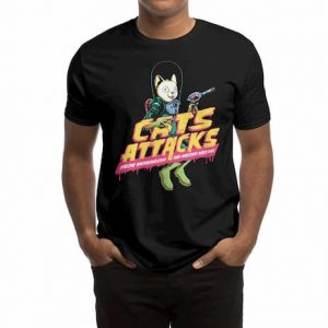 CATS ATTACKS T-Shirt