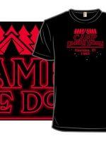 Camp Upside Down T-Shirt