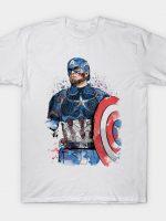 Captain Watercolor T-Shirt