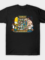 Clash of Toon Dads T-Shirt