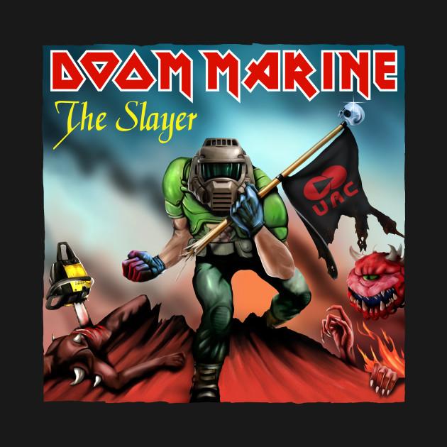 Doom Marine Cover