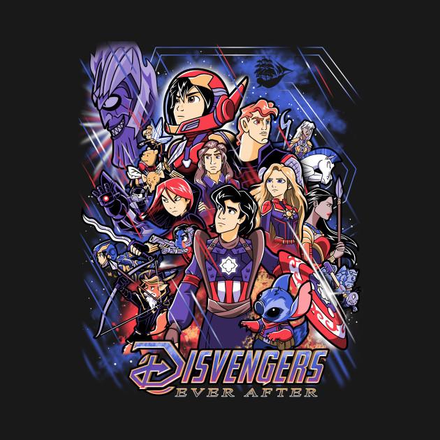 Disney Avengers Mashup
