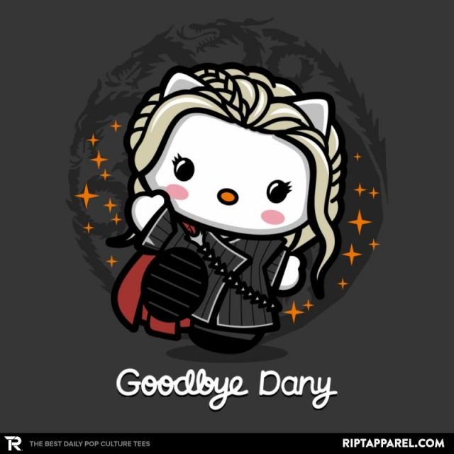 Daenerys Targaryen/Hello Kitty Mashup