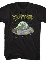 Galaxy Space Cruiser T-Shirt