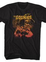 Gradient Collage Goonies T-Shirt