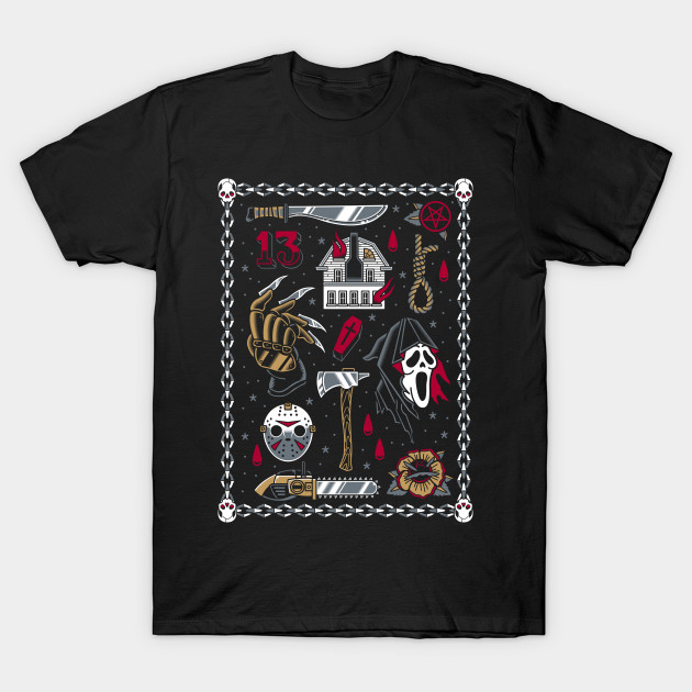 Horror Movie Flash T-Shirt