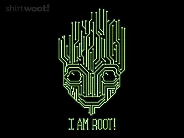 I AM ROOT!