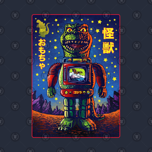 Kaiju Tin Toy