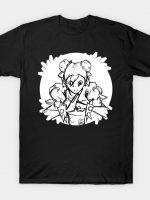 Kicking Queen Sketch T-Shirt