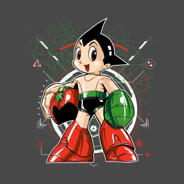 Mega Astro Rock Boy Man