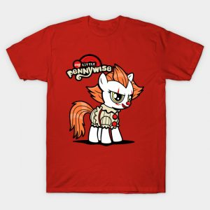 Pennywise the Clown and My Little Pony Mashup T-Shirt