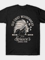 Old Chief Woodenhead Black & White T-Shirt