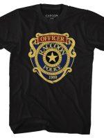 Raccoon City Police Badge T-Shirt
