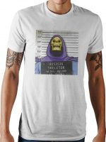 Skeletor Mug Shot T-Shirt