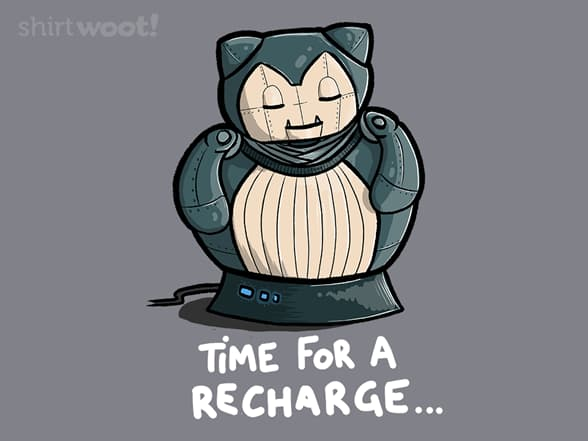Time for a recharge