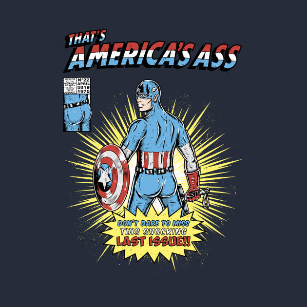 That's America's ass
