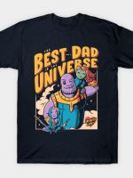 The Best Dad in the Universe T-Shirt
