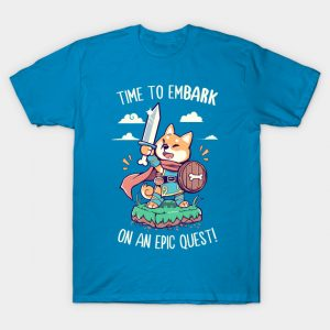 Time to EmBARK on an Epic Quest T-Shirt