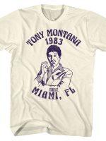 Tony Montana 1983 T-Shirt
